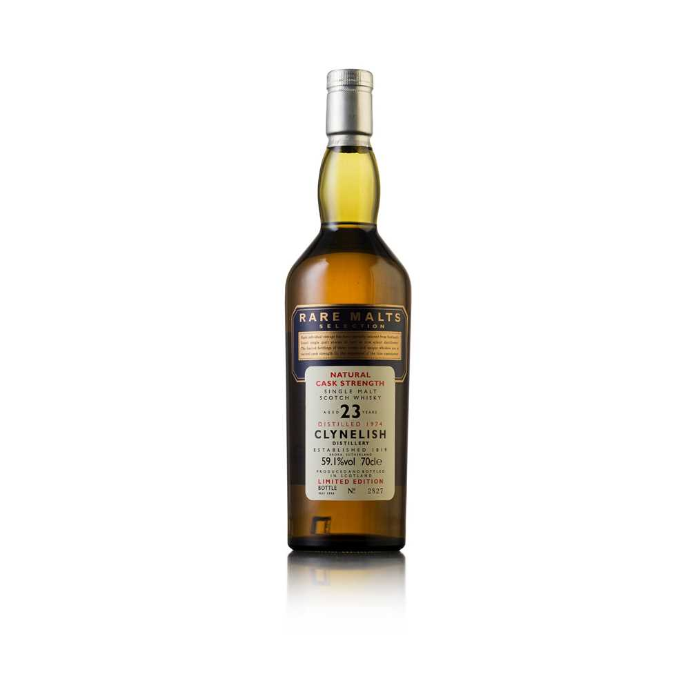 Lot 601-CLYNELISH 1974 23 YEAR OLD - RARE MALTS SELECTION