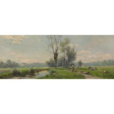Lot 112 - AUGUST (KARL MARTIN) SPLITGERBER (GERMAN 1844-1914)