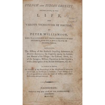 Lot 62 - Williamson, Peter