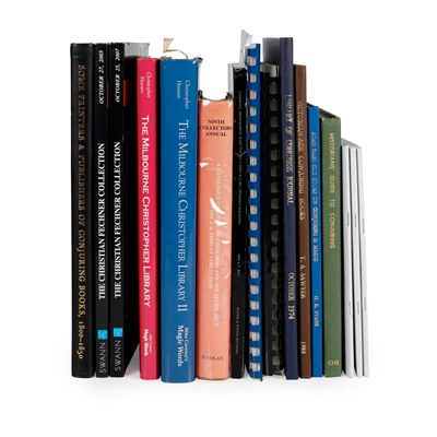 Lot 188 - Conjuring and Magic Bibliography, including