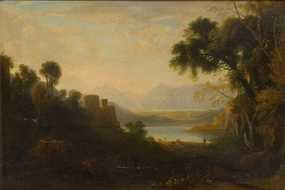 Lot 72 - REV JOHN THOMSON OF DUDDINGSTON H.R.S. (SCOTTISH 1778-1840)