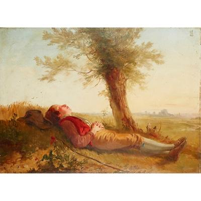 Lot 54 - EDWARD AUGUSTUS GIFFORD (SCOTTISH 1819-1894)