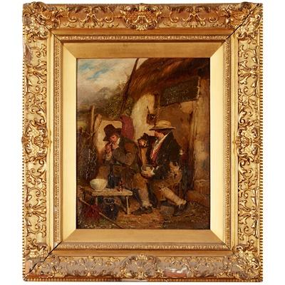 Lot 39 - ERSKINE NICOL R.S.A., A.R.A. (IRISH 1825-1904)