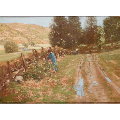 Lot 120 - GEORGE HOUSTON R.S.A, R.S.W., R.G.I (SCOTTISH 1869-1947)