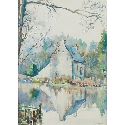 Lot 62 - CHRISTIAN JANE FERGUSSON (SCOTTISH 1876-1957)