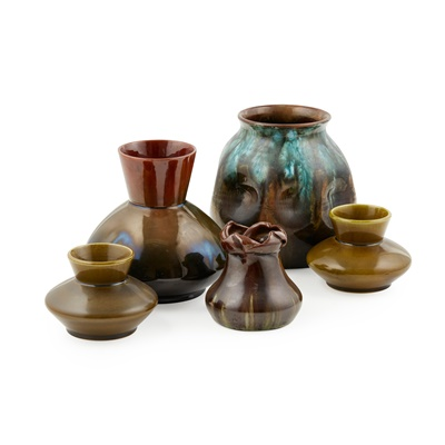 Lot 90 - LINTHORPE ART POTTERY, ATTRIBUTED TO CHRISTOPHER DRESSER