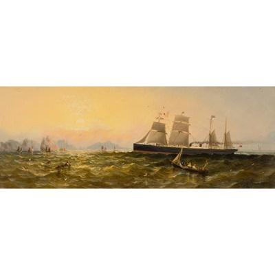 Lot 125 - ADOLPHUS KNELL (BRITISH FL.1860-1890)