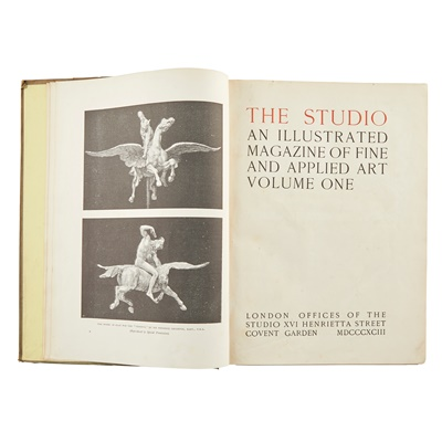 Lot 197 - THE STUDIO, AN ILLUSTRATED MAGAZINE OF FINE AND APPLIED ART