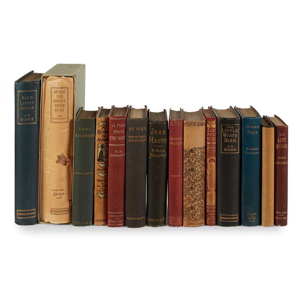 Lot 123 - 1890's Literature, 14 volumes