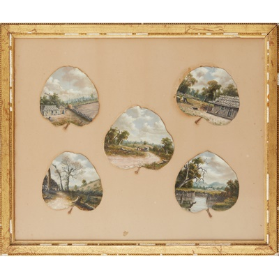 Lot 38 - ATTRIBUTED TO ALFRED WILLIAM EUSTACE (1820-1907)