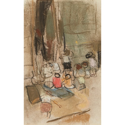 Lot 201 - JOAN EARDLEY R.S.A (SCOTTISH 1921-1963)