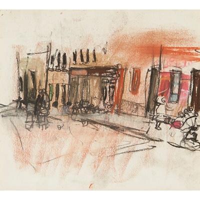 Lot 200 - JOAN EARDLEY R.S.A (SCOTTISH 1921-1963)