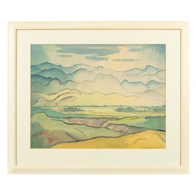 Lot 67 - Thomas A McCormack (New Zealand 1883-1973)