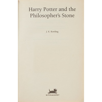 Lot 53 - Rowling, J.K. - Harry Potter and the Philosopher's Stone