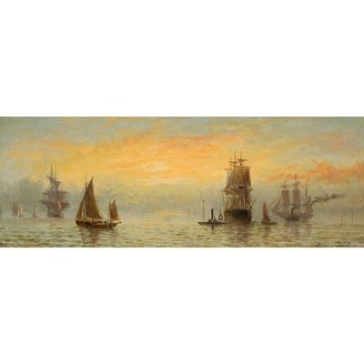Lot 123 - ADOLPHUS KNELL (BRITISH FL.1860-1890)