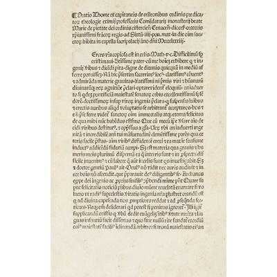 Lot 70 - Thomas ex Capitaneis de Celleonibus