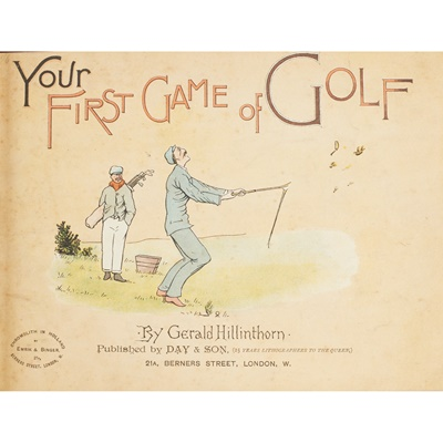 Lot 375 - Golf, 2 works in one, comprising