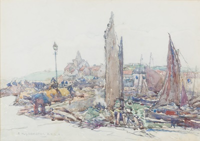 Lot 31-ROBERT MCGOWN COVENTRY A.R.S.A., R.S.A (SCOTTISH 1855-1914)