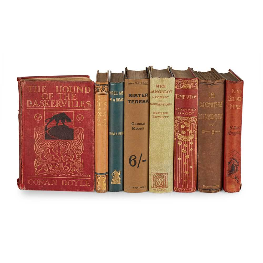 Lot 184 - Late 19th and early 20th Century Literature