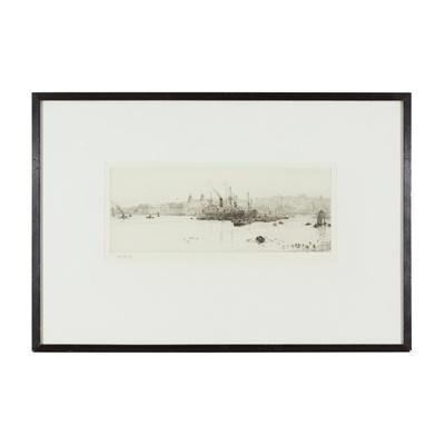 Lot 30 - WILLIAM LIONEL WYLLIE R.A. (BRITISH 1851-1931)