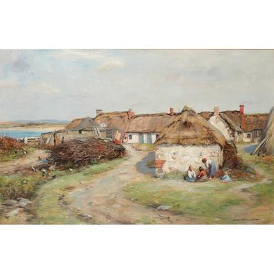 Lot 166 - JOHN HENDERSON (SCOTTISH 1860-1924)