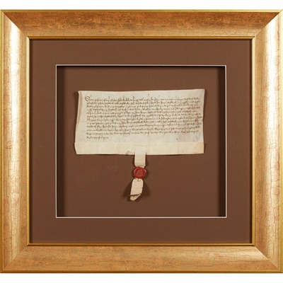 Lot 233 - Leicestershire: Medieval Charter, 1456