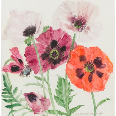 Lot 41 - ELIZABETH BLACKADDER O.B.E., R.A., R.S.A., R.S.W., R.G.I., D.Litt (SCOTTISH B.1931)