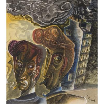 Lot 66 - JOHN BYRNE (SCOTTISH B.1940)