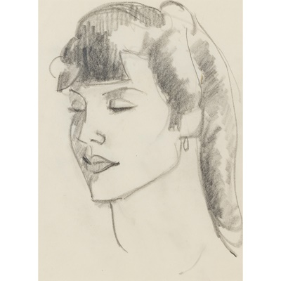 Lot 25 - JOHN DUNCAN FERGUSSON R.B.A. (SCOTTISH 1874-1961)