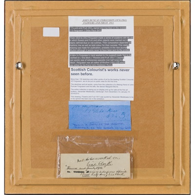 Lot 19 - JOHN DUNCAN FERGUSSON R.B.A. (SCOTTISH 1874-1961)