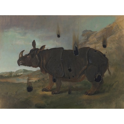 Lot 67 - DERRICK GUILD R.S.A (SCOTTISH B.1961)