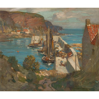 Lot 1 - JAMES WHITELAW HAMILTON R.S.A., R.S.W (SCOTTISH 1860-1932)
