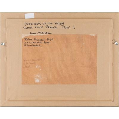 Lot 47 - SIR ROBIN PHILIPSON R.A., P.R.S.A., F.R.S.A., R.S.W., R.G.I., D.Litt., L.L.D. (SCOTTISH 1916-1992)