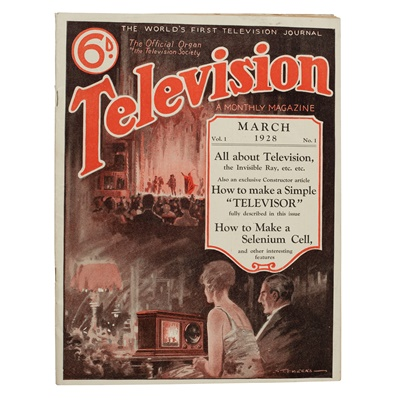 Lot 370 - Television, a monthly magazine