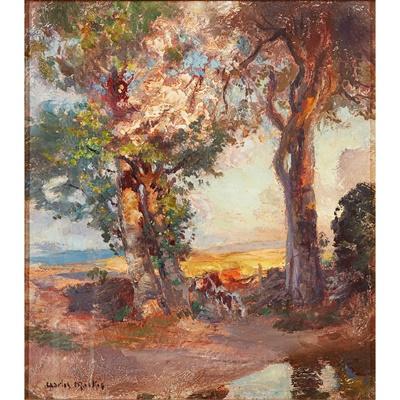 Lot 99 - CHARLES HODGE MACKIE R.S.A., R.S.W., P.S.S.A. (SCOTTISH 1862-1920)