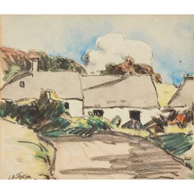 Lot 38 - ERNEST ARCHIBALD TAYLOR (SCOTTISH 1874-1951)