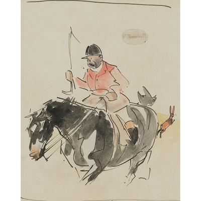 Lot 153 - JOSEPH CRAWHALL R.S.W (SCOTTISH 1861-1913)