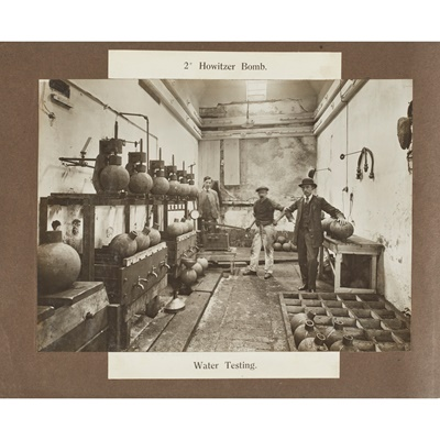 Lot 311 - First World War Munitions Factory photographs