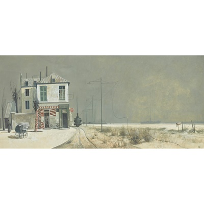 Lot 93 - JAMES MCNAUGHT R.S.W., R.G.I. (SCOTTISH B.1948)