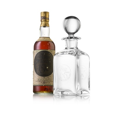 Lot 603-THE MACALLAN OVER 20 YEARS OLD - JOHN MENZIES 150TH ANNIVERSARY
