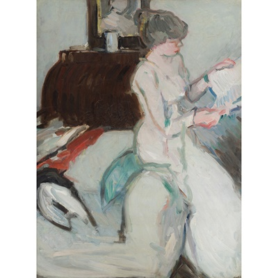Lot 202 - SAMUEL JOHN PEPLOE R.S.A (SCOTTISH 1871-1935)