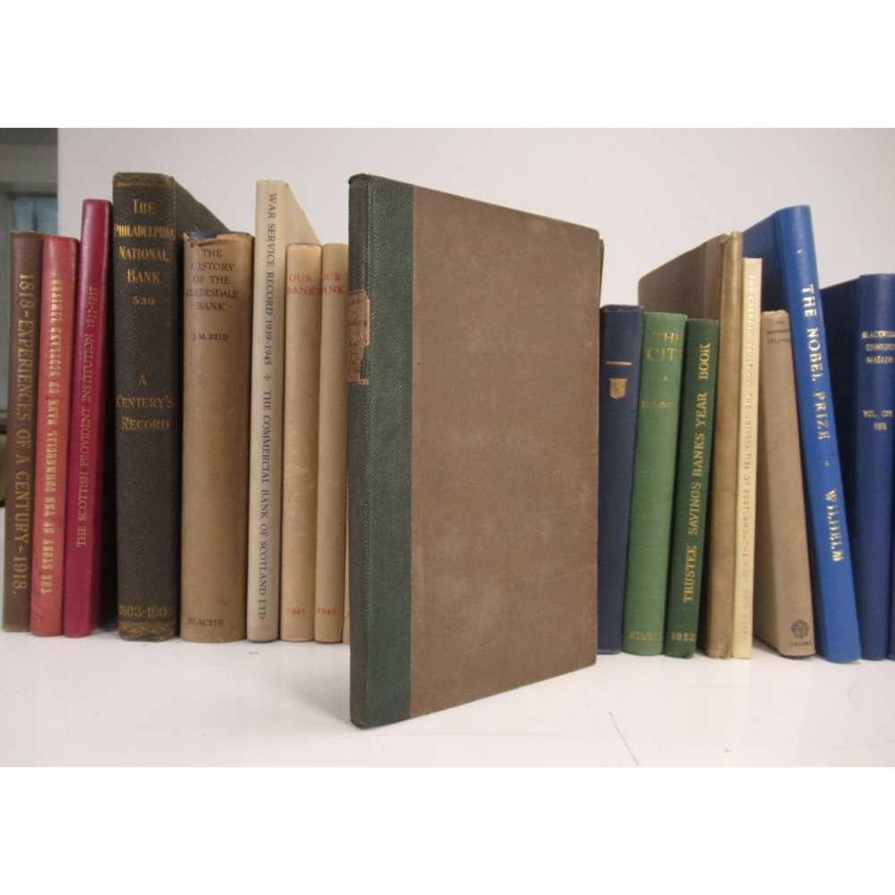 Lot 78 - Banks and Banking, including