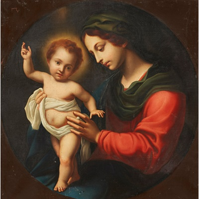 Lot 23 - AFTER CARLO DOLCI (ITALIAN 1616-1686)