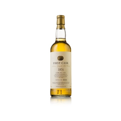 Lot 602-ABERLOUR 1974 19 YEAR OLD - FIRST CASK