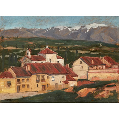 Lot 186 - WILLIAM MACDONALD (SCOTTISH 1883-1960)