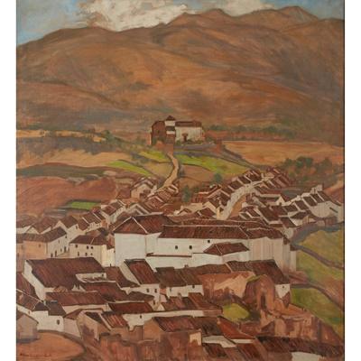 Lot 184 - WILLIAM MACDONALD (SCOTTISH  1883-1960)