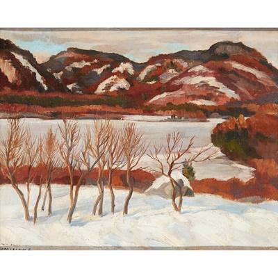 Lot 185 - WILLIAM MACDONALD (SCOTTISH  1883-1960)
