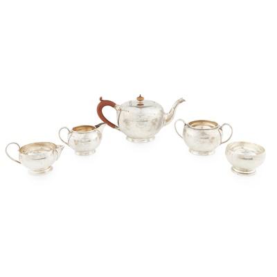 Lot 439 - A 1920s three piece tea service