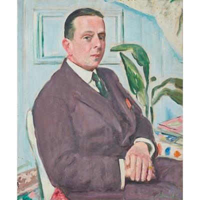 Lot 209 - GEORGE LESLIE HUNTER (SCOTTISH 1877-1931)