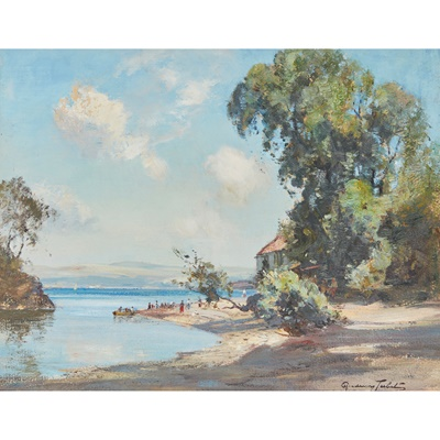 Lot 49 - J.A. HENDERSON TARBET (SCOTTISH C.1865-1937)